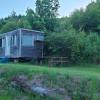 Twin bed cozy cabin trailer