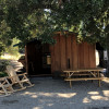 Redwood Tent Top Cabin in the Oaks