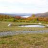 Tents, Lake & Green Mountain View's