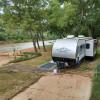 River Hut RV camping on Brazos