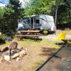 Welcome to the Berry Patch; A Lovely RV in the woods by a stream in the heart of the Adirondacks!