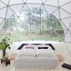 Outlier Inn Geodesic Dome 1 on Farm