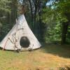 Cedar Grove Tipi at Buck Creek