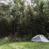 Secluded camping getaway