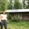 Trappers cabin on the Liard River