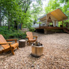 Huge Glamping Tent in Trees with A/C and Heat