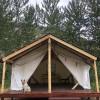 Salmon River Dreamstream Wall Tent