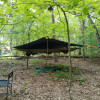 Arborist tree tent with cabin