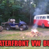 Waterfront VW Bus Camping!