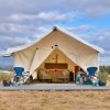 Glamping by North Santiam River