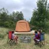 Camp on Birch Harbor Berry Field