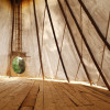 Secluded 24' tipi by brook