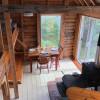 Kayakers' island cabin