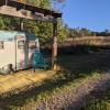 Glamping in a Vintage Camper