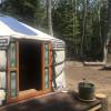 Mongolian Yurt on Chebeague Island