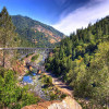 Town of Pulga on the Feather River