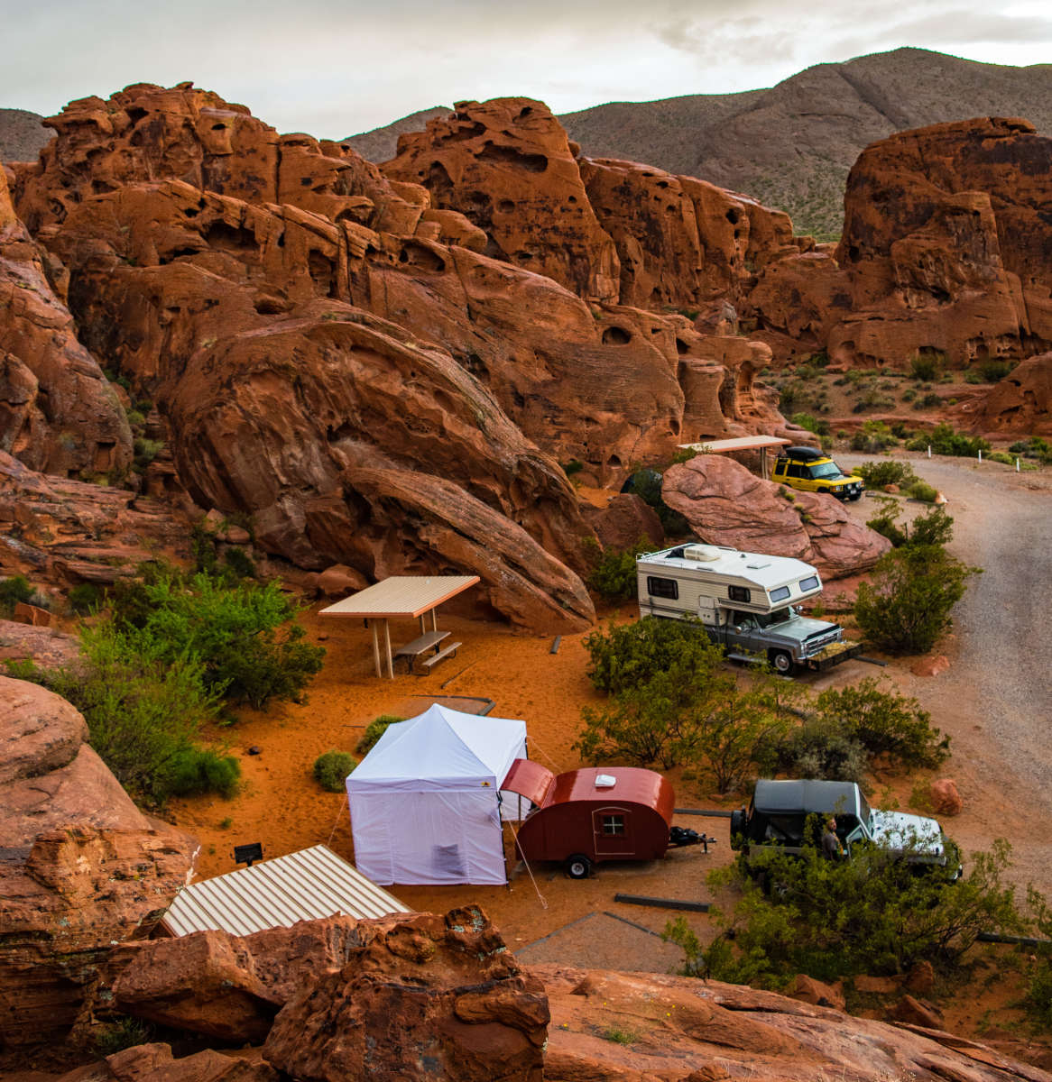 Atlatl Rock Campground Valley Of Fire Nv 6 Hipcamper Reviews And 22 Photos
